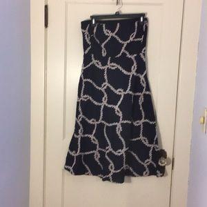 JCrew Size 8 Strapless Dress